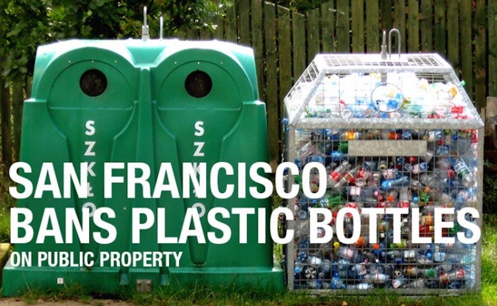 San Francisco plastic bottles